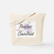 Pensions Consultant Artistic Job Design w Tote Bag