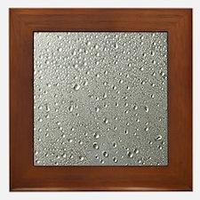 WATER DROPS 3 Framed Tile