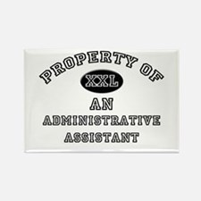 Property of an Administrative Assistant Rectangle
