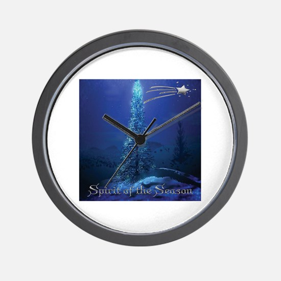 Spirit of the Season Wall Clock