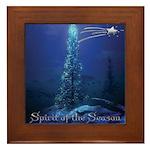 Spirit of the Season Framed Tile