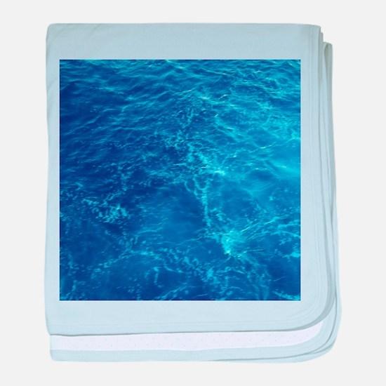 PACIFIC OCEAN baby blanket