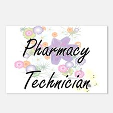 Pharmacy Technician Artis Postcards (Package of 8)