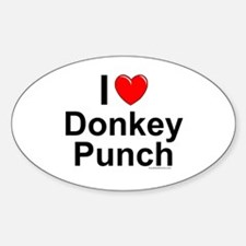 Donkey Punch Decal