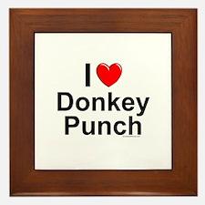 Donkey Punch Framed Tile