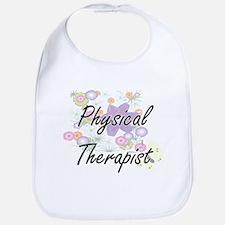 Physical Therapist Artistic Job Design with Fl Bib