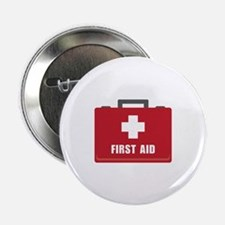 "First Aid 2.25"" Button (10 pack)"