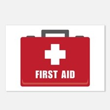 First Aid Postcards (Package of 8)