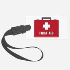 First Aid Luggage Tag