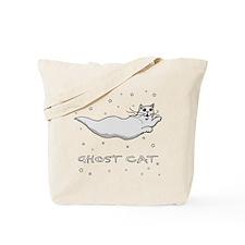 Ghost Cat #1 Tote Bag