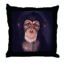 Unique Primates Throw Pillow
