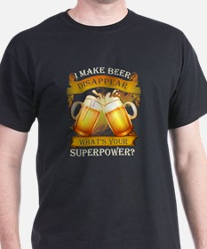 Cool Beer in T-Shirt