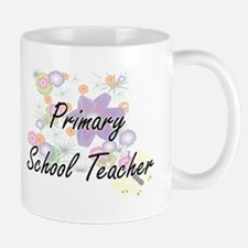 Primary School Teacher Artistic Job Design wi Mugs