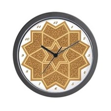 Numbered Wall Clock