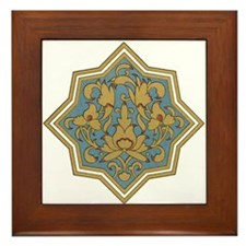 Traditional Art Framed Tile