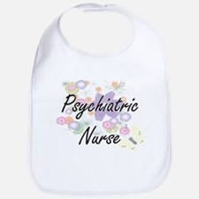 Psychiatric Nurse Artistic Job Design with Flo Bib