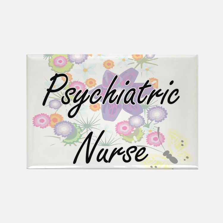 Psychiatric Nurse Artistic Job Design with Magnets