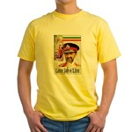 love JAH JAH Yellow T-Shirt