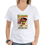 love JAH JAH Women's V-Neck T-Shirt