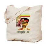 love JAH JAH Tote Bag
