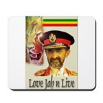 love JAH JAH Mousepad