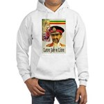 love JAH JAH Hooded Sweatshirt