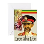 love JAH JAH Greeting Cards (Pk of 10)