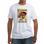 love JAH JAH Fitted T-Shirt