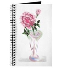Rose in Vase Journal