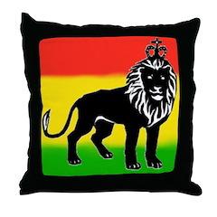 KING OF KINGZ Throw Pillow