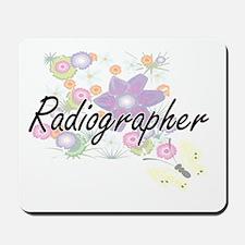 Radiographer Artistic Job Design with Fl Mousepad