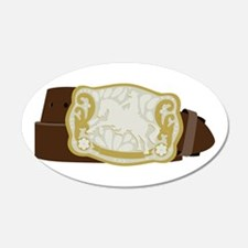 Cowboy Belt Wall Decal
