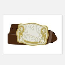 Cowboy Belt Postcards (Package of 8)