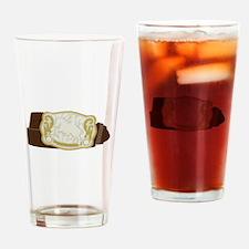Cowboy Belt Drinking Glass