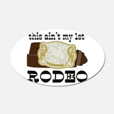 My 1st Rodeo Wall Decal