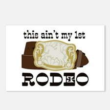 My 1st Rodeo Postcards (Package of 8)
