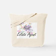Real Estate Agent Artistic Job Design wit Tote Bag