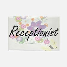 Receptionist Artistic Job Design with Flow Magnets