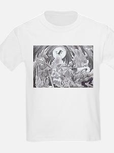 Moon light walk. T-Shirt
