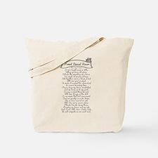 Barrel Racer Prayer Tote Bag