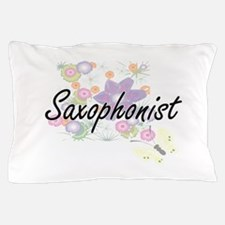 Saxophonist Artistic Job Design with F Pillow Case