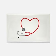 Heart Stethescope Magnets