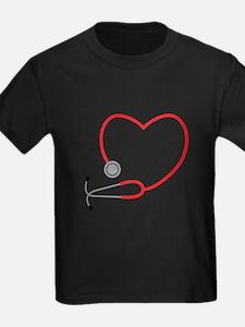 Heart Stethescope T-Shirt
