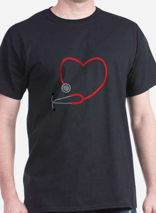 Heart Stethescope T-Shirt