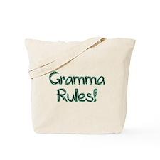 Gramma Rules! Tote Bag