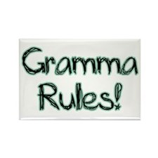 Gramma Rules! Rectangle Magnet (10 pack)