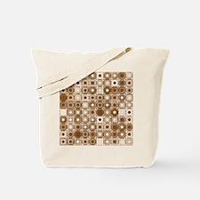 Unique Brown Tote Bag