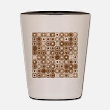 Cute Brown Shot Glass