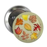 "Leaves 2.25"" Button (100 pack)"