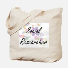 Social Researcher Artistic Job Design wit Tote Bag